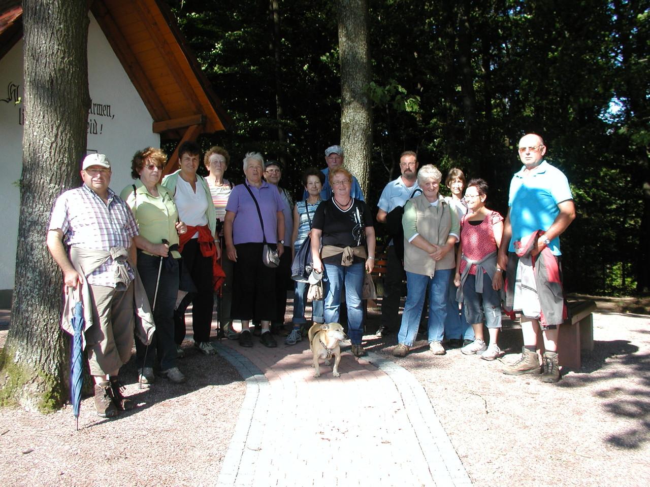 Wanderung Hohe Warte Juli 2012