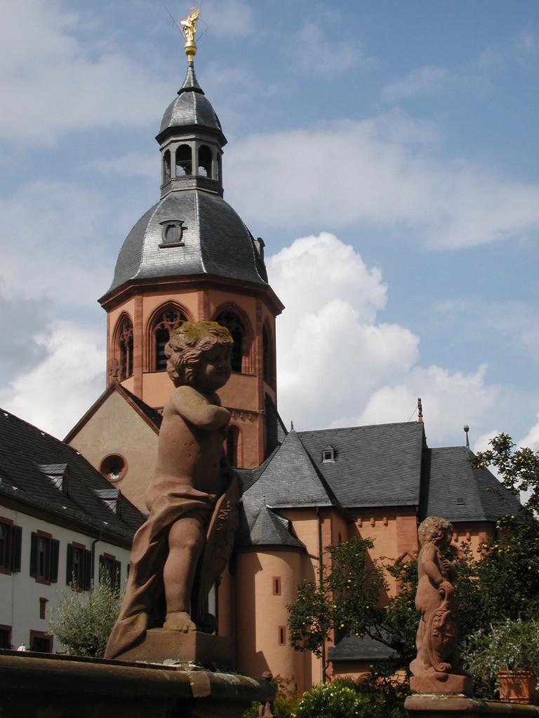 Radtour nach Seligenstadt 13.08.11 - Einhardsbasilika