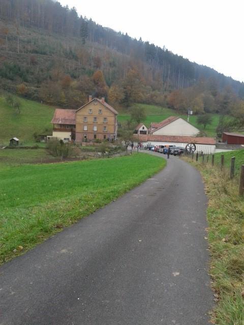 Mühlenwanderung Schollbrunn - Start und Ziel: Schreckemühle