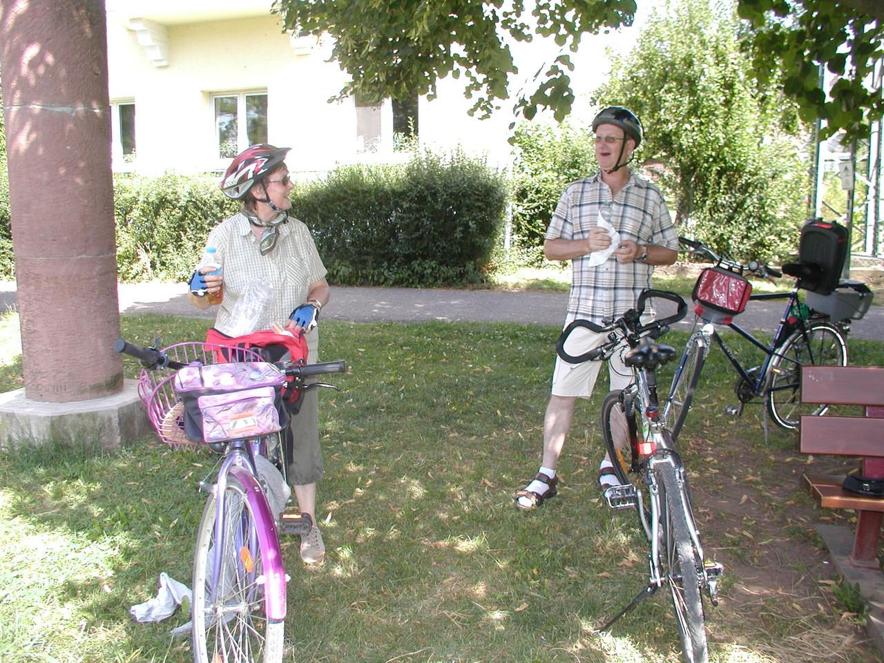 Fahrradwanderung 2012 - Alzenau