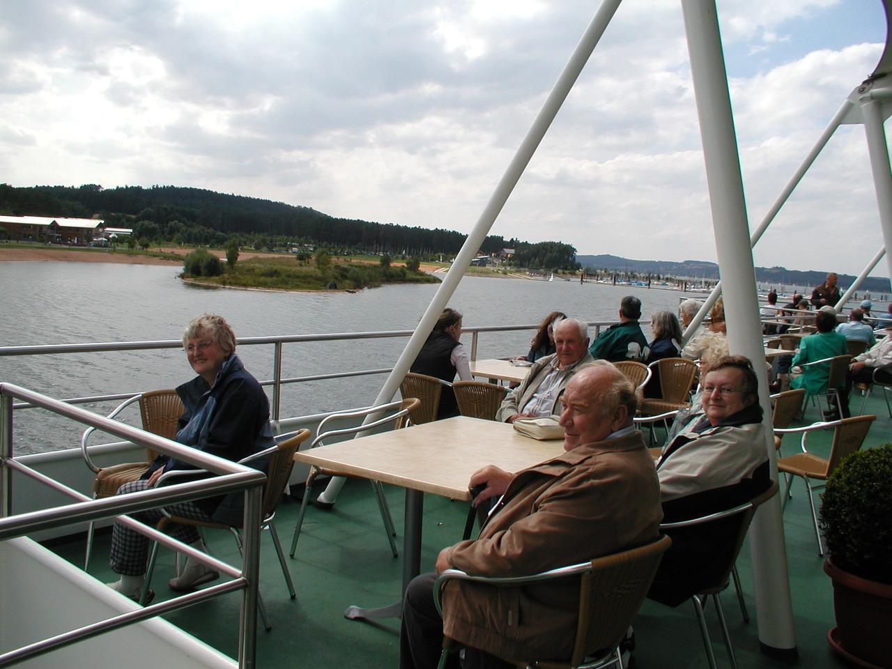 Ausflug zum Brombachsee Juli 2005