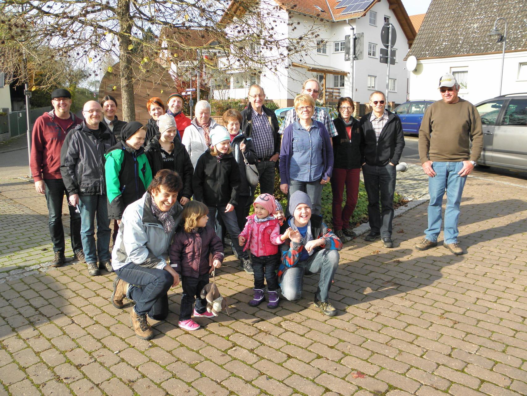 Mühlenwanderung Schollbrunn am 9. November - aus der Sonne (Dornau) in den Nebel (Schollbrunn)