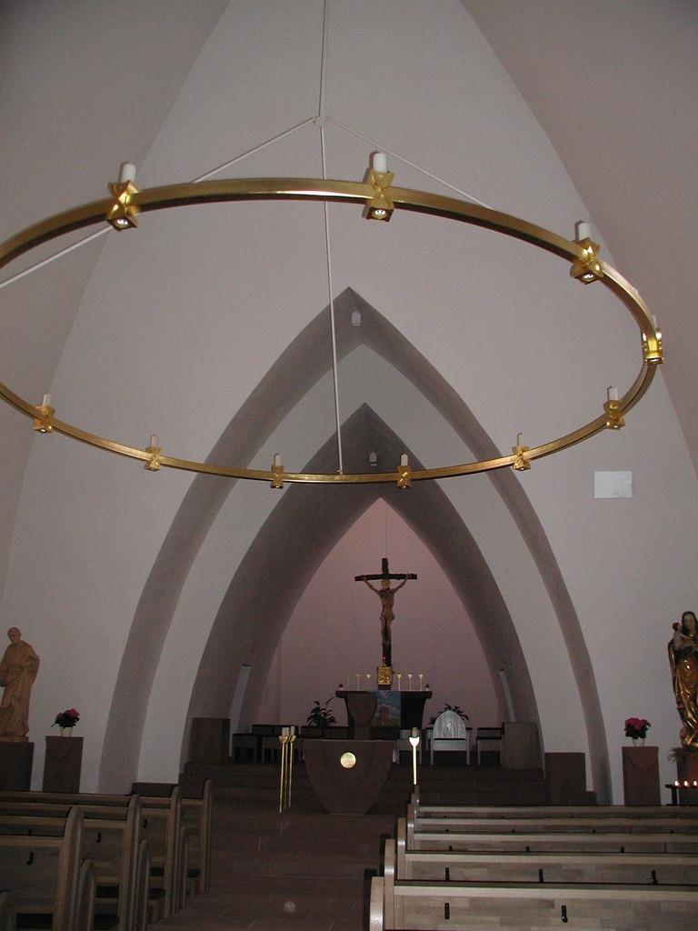Fahrradwanderung 2012 - Kirche in Alzenau