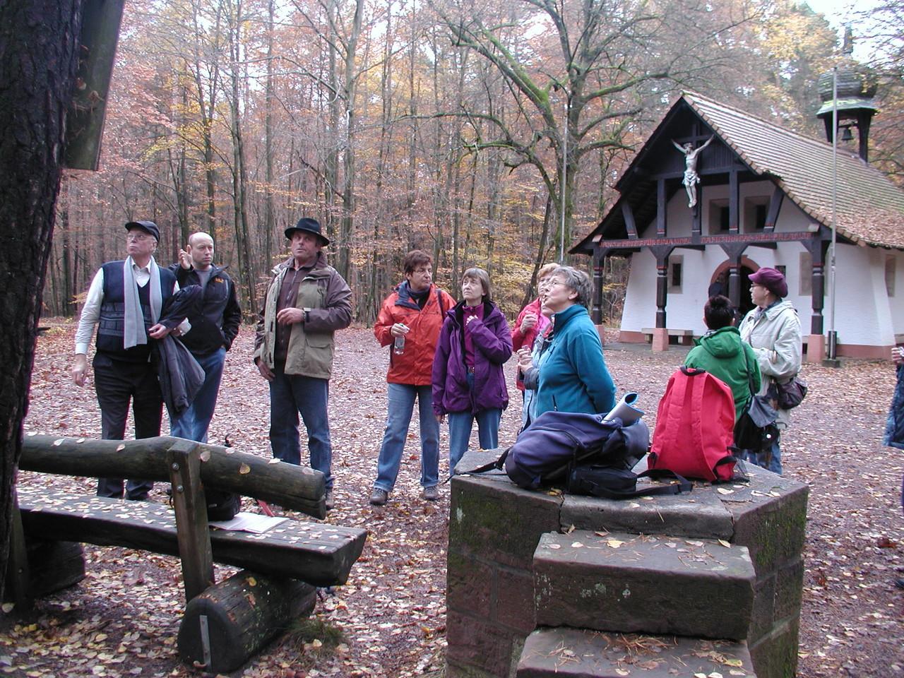 Wanderung nach Schweinheim November 2012 - Obernauer Kapelle
