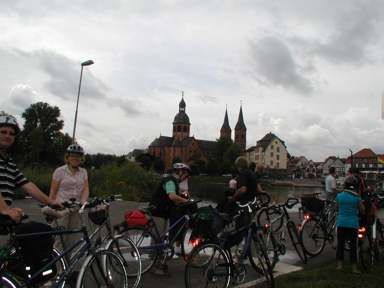 Radtour nach Seligenstadt 13.08.11