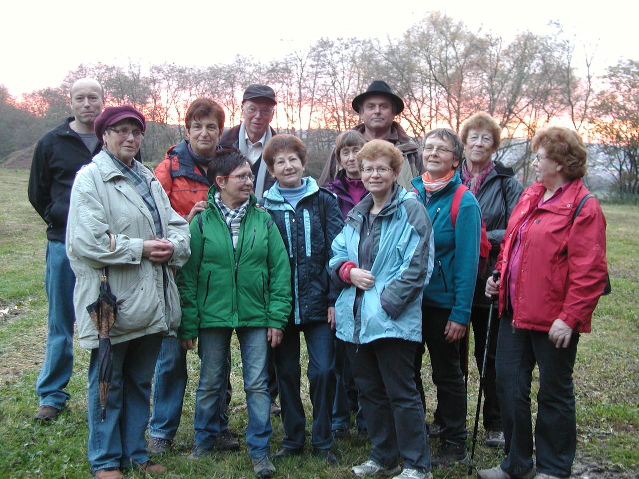 Wanderung nach Schweinheim November 2012