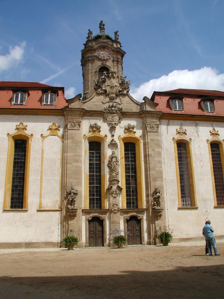 Ausflug zum Brombachsee Juli 2005 - Schloss Weissenstein in Pommersfelden