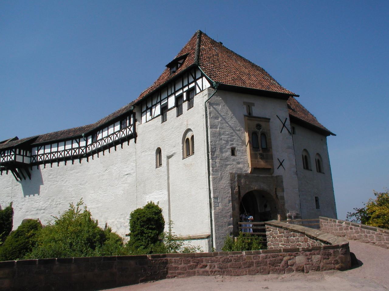 Ausflug Eisenach Juli 2006 - Die Wartburg