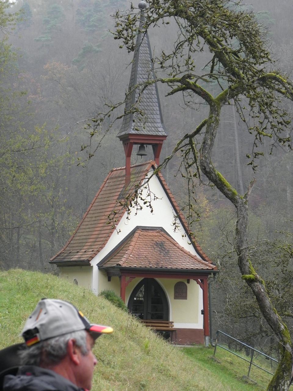 Mühlenwanderung Schollbrunn - Kapelle an der Schleichmühle