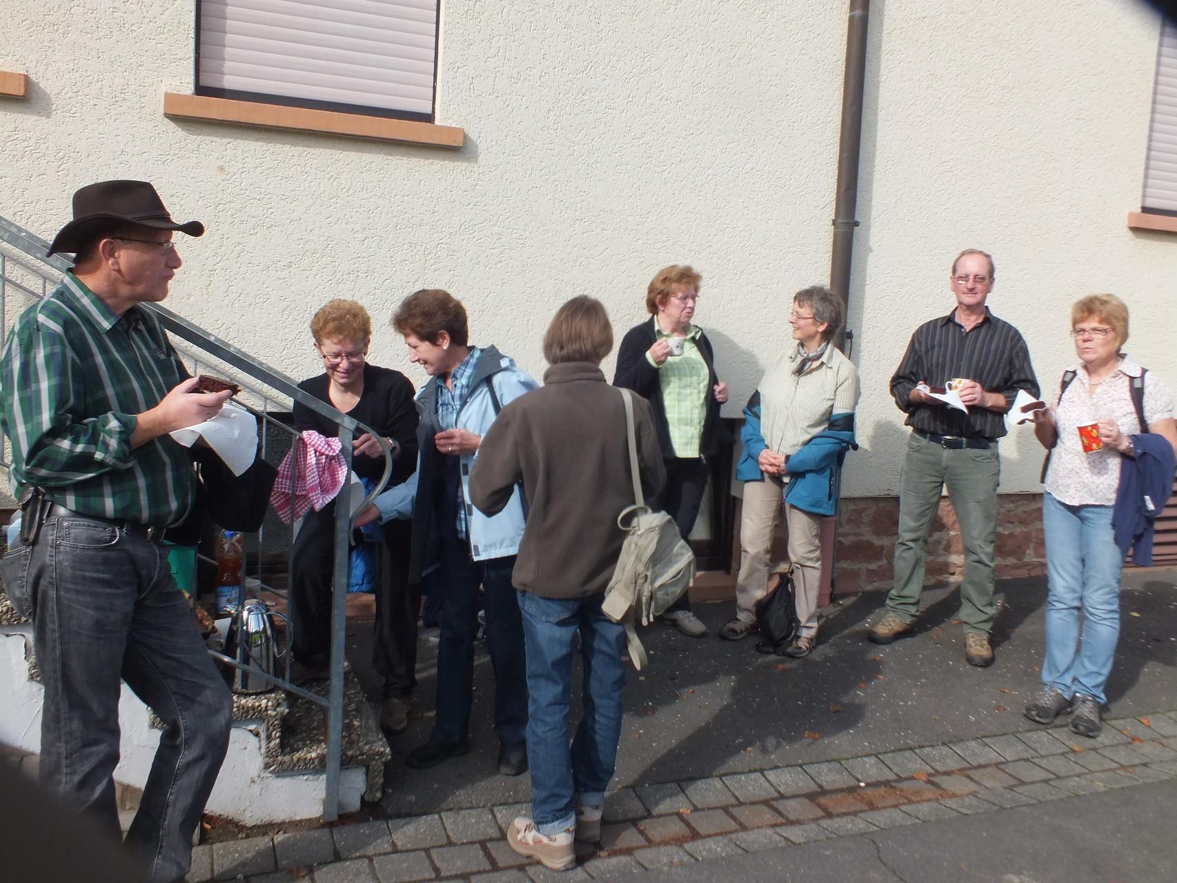 Wanderung zur Altenburg mit Führung am 12.10.14