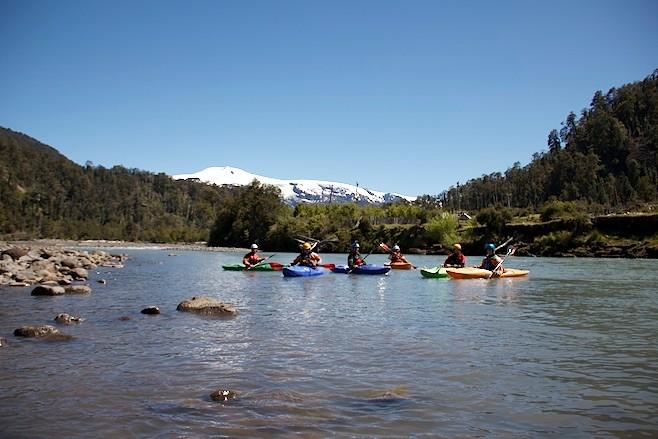 Rio Michimahuida, Chile-Trip 2011/12