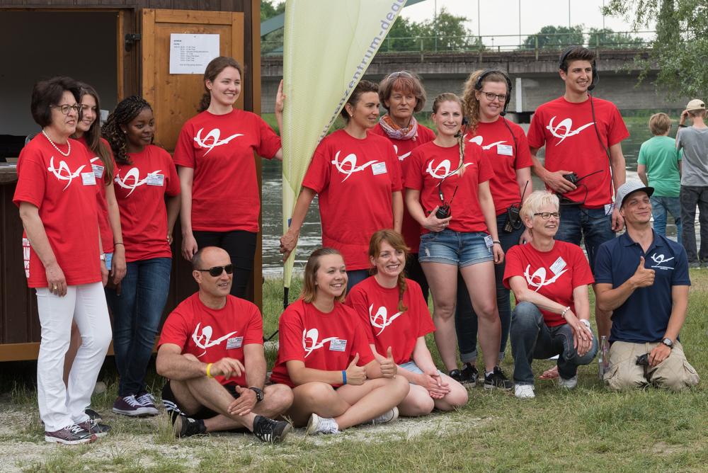 Das freiwillige Helferteam rund um Lilly Gotzler, Foto: Birgit Stiebing