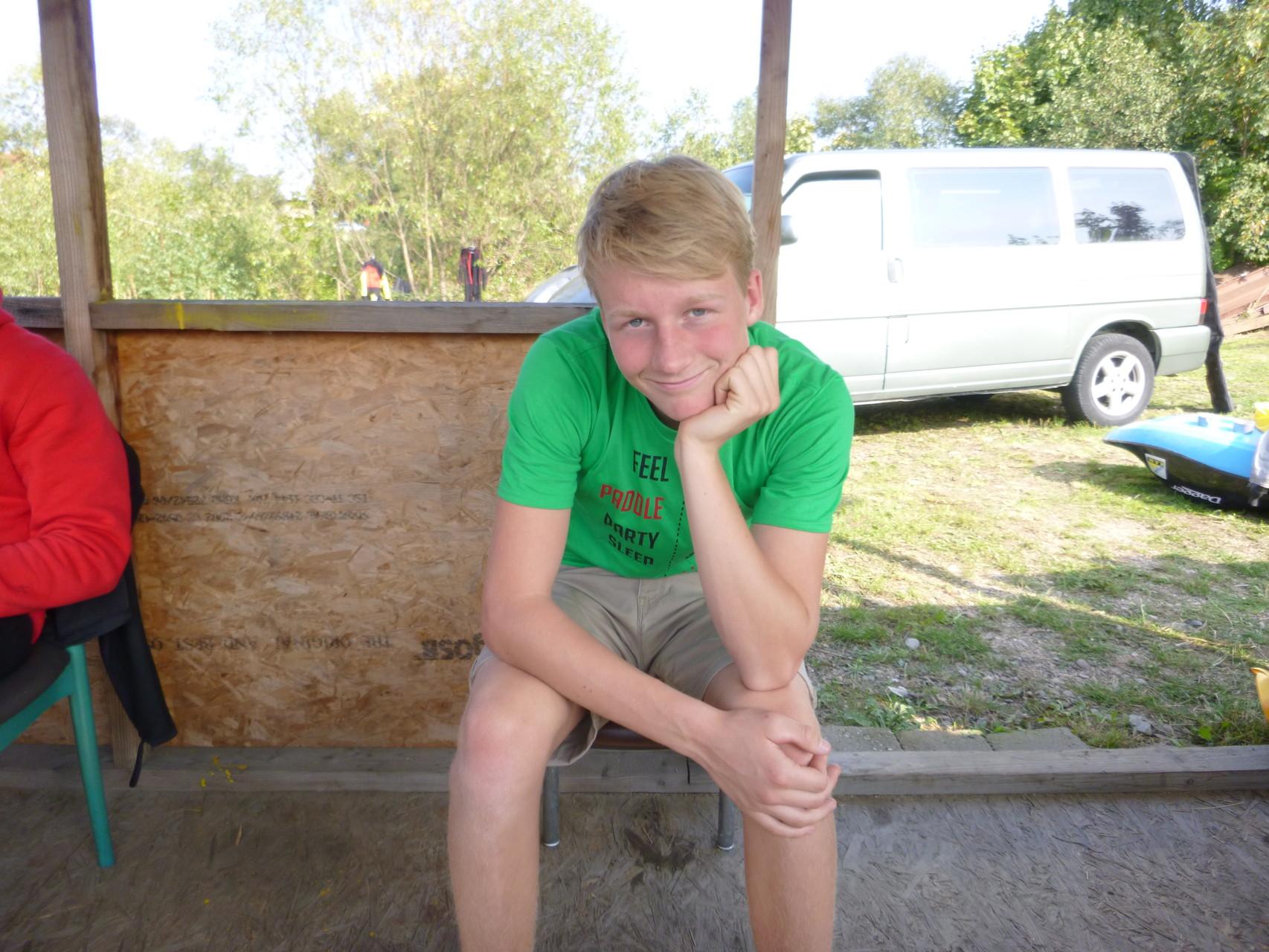 EuroCup-Sieger 2015 bei den Junioren: Leon Bast. Er freut sich schon auf die EM in Plattling 2016!