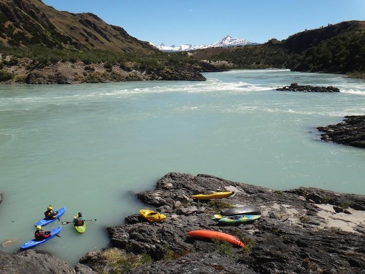 Rio Baker, Chile-Trip 2012/13, Foto: Stefan Motz