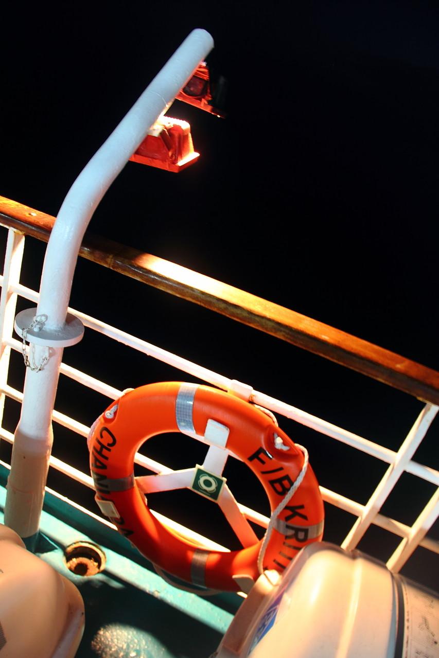 Von Patras nehmen wir die Fähre zurück nach Venedig ... noch einmal 32 Stunden auf See!