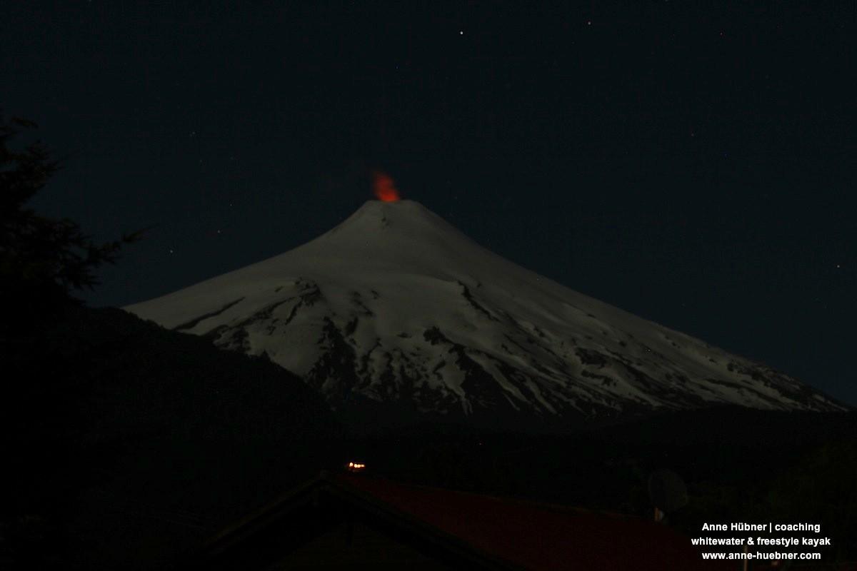 Weihnachtsbeleuchtung in Pucon