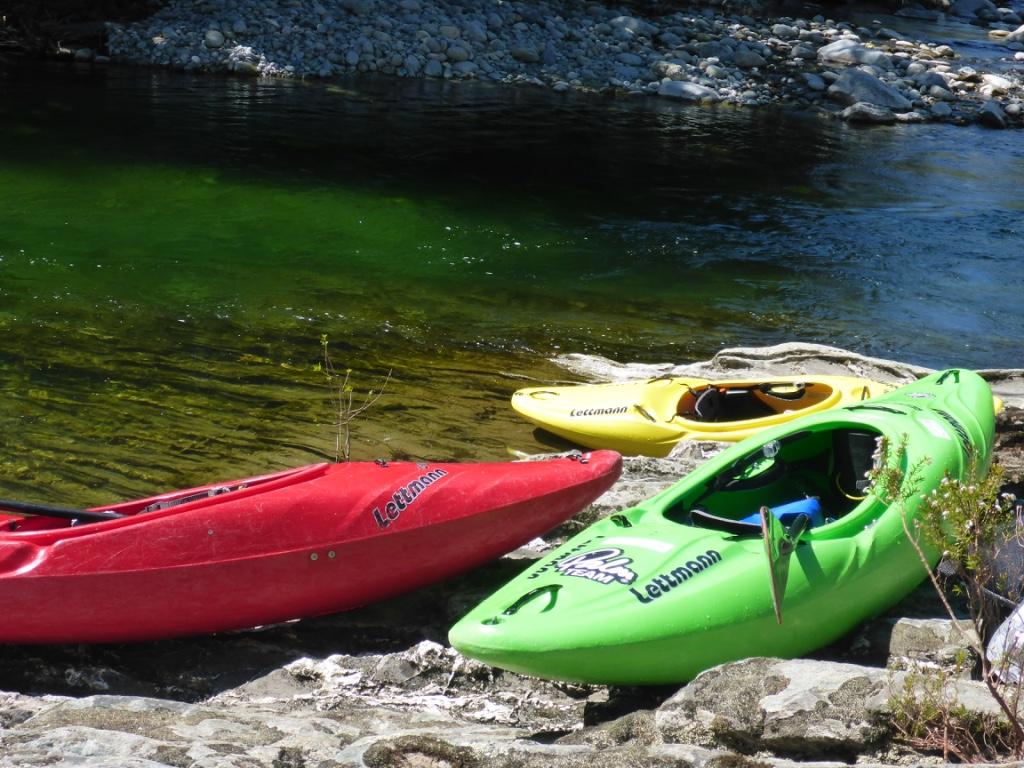 Grünes Wasser und Sonnenschein - das ist Ostern auf Korsika! ... am unteren Vecchio