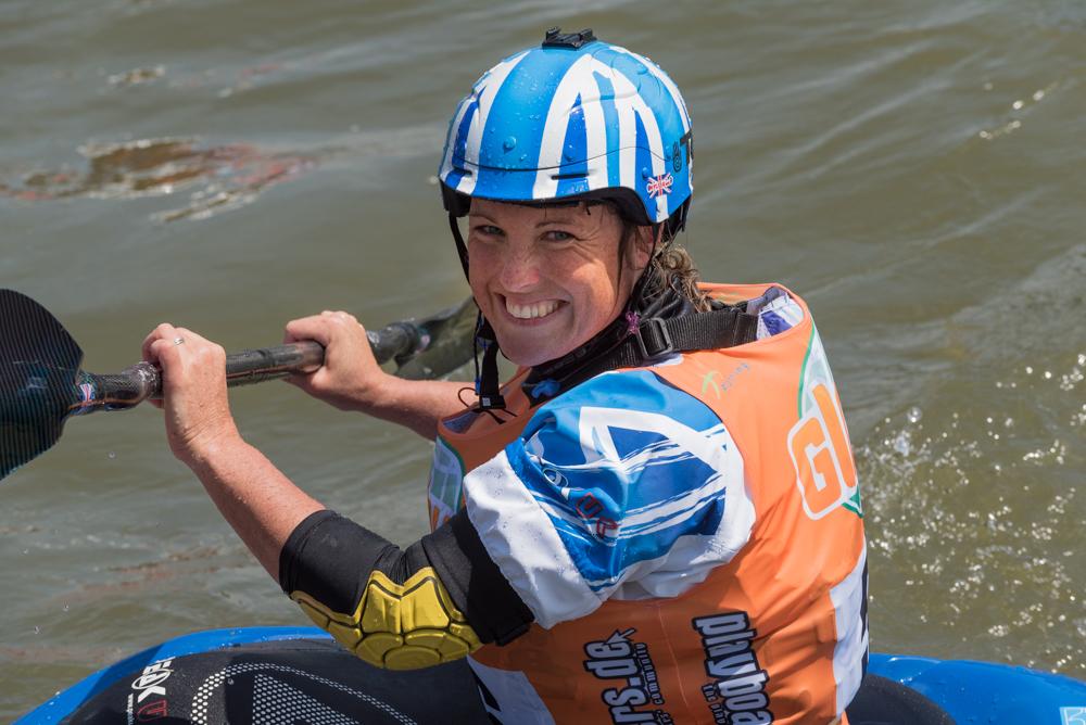 Die achtmalige Weltmeisterin Claire O´hara freut sich über ihren ersten EM-Titel, Foto: Birgit Stiebing