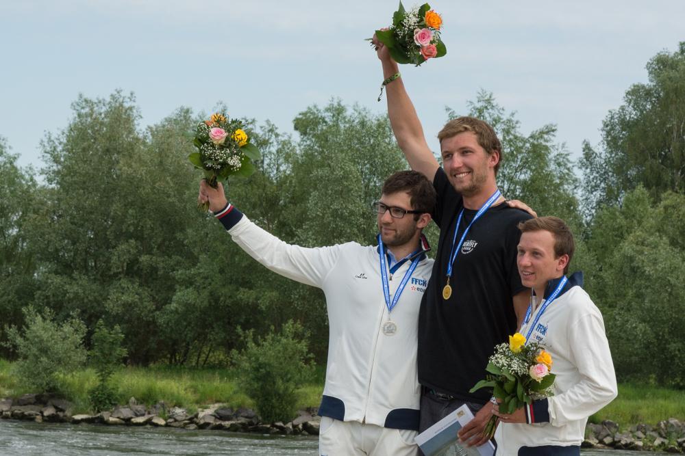 C1: Lukas Cervinka (CZE) vor Sebastian Devred (FRA) und Tom Lay (FRA), Foto: Birgit Stiebing