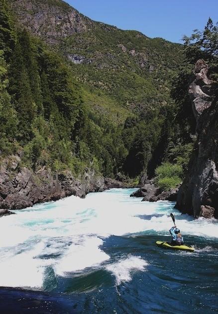 Rio Futaleufu, Infreno Canyon, Entrada, Chile-Trip 2011/12, Foto: Paul Meylahn