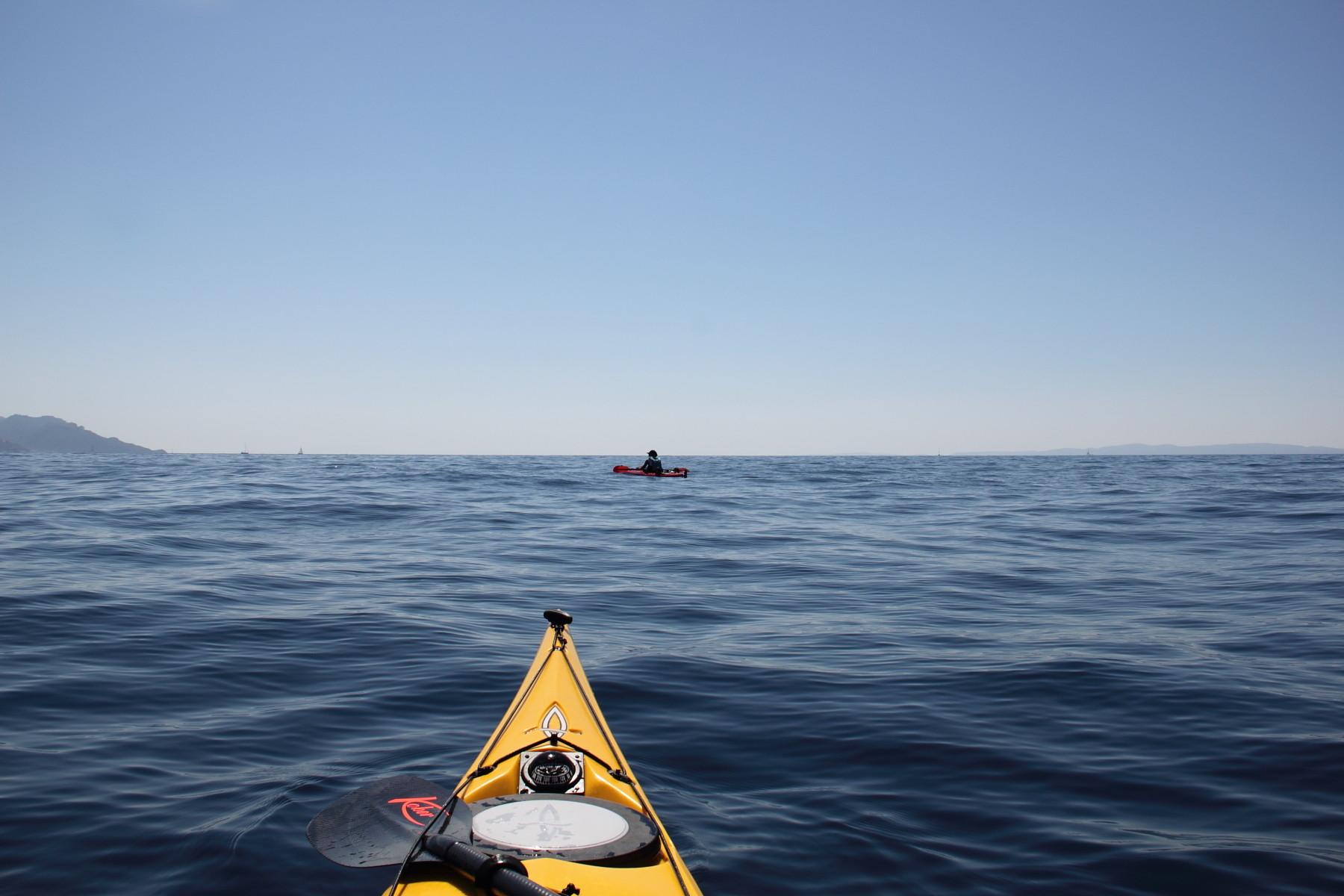 Die endlose Weite des Meeres... und dabei befinden wir uns doch nur auf dem Mittelmeer!