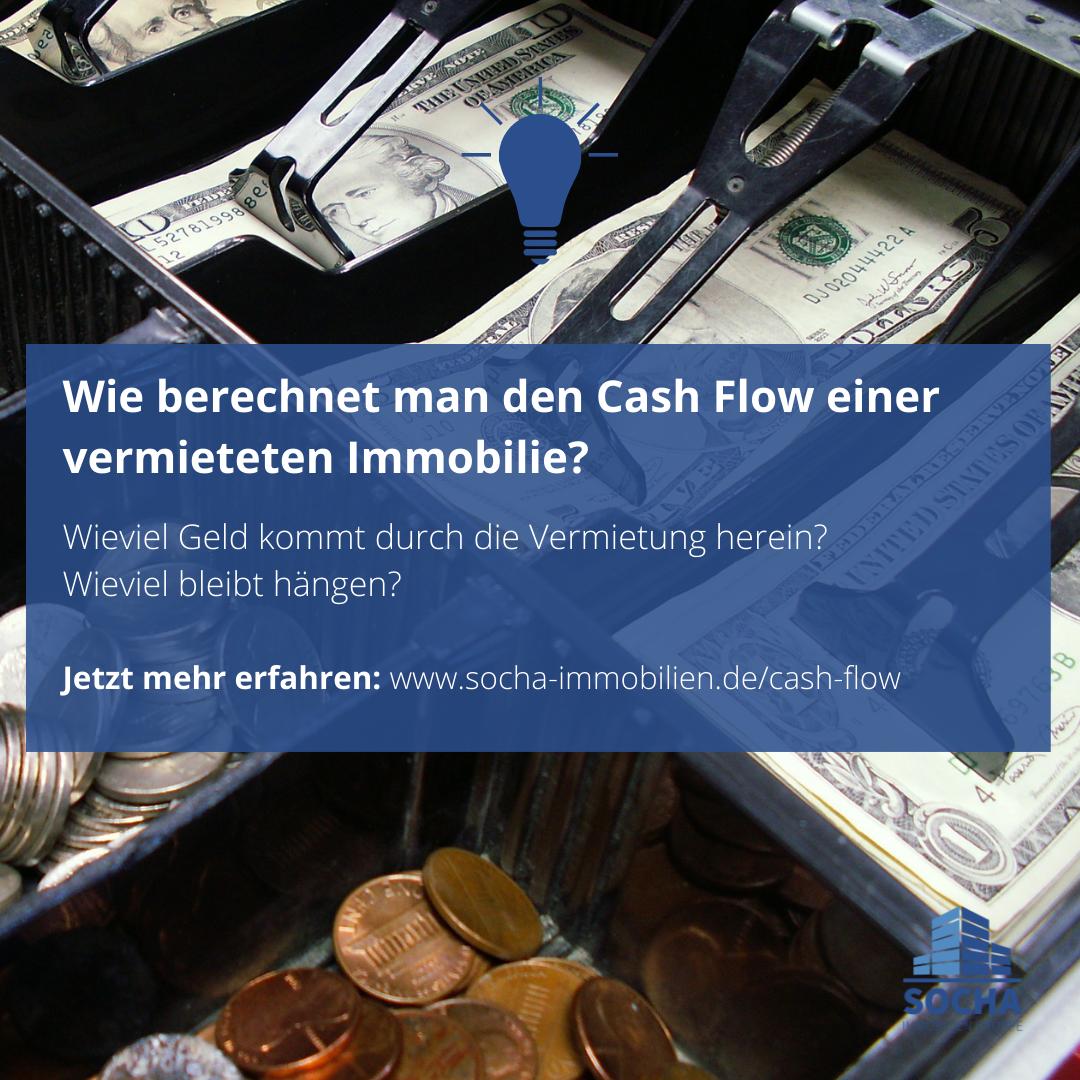 Wie berechnet man den Cash Flow einer Immobilie?