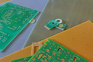リジットプリント配線基板「特化」 が当社の強み