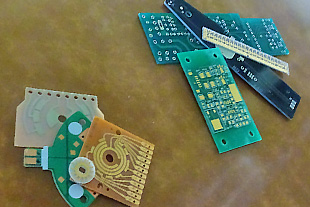 片面・両面プリント配線基板の製造に特化 が当社の強み