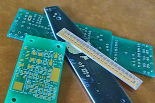 両面プリント配線基板 製造の流れ