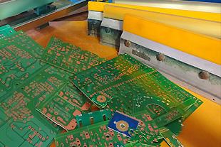 熱硬化型インク、UVキュア型インクのレジストが可能です。