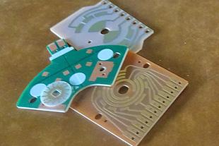 片面プリント配線基板 製造の流れ