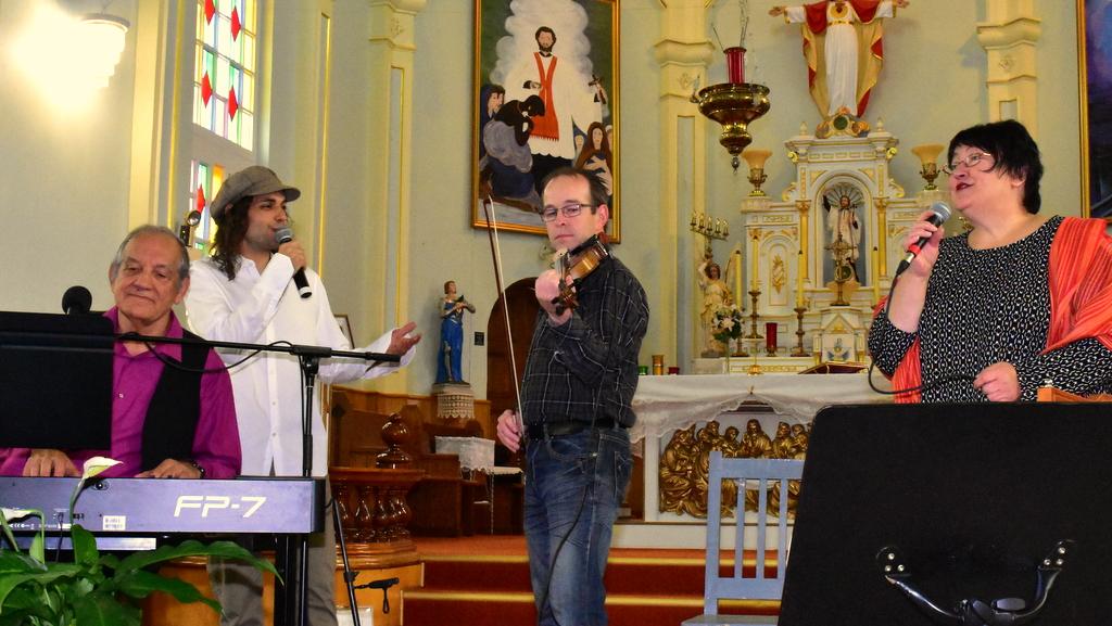 Avec Étienne & Bernard Bouchard, 2016 | Photo : Gilles Fiset