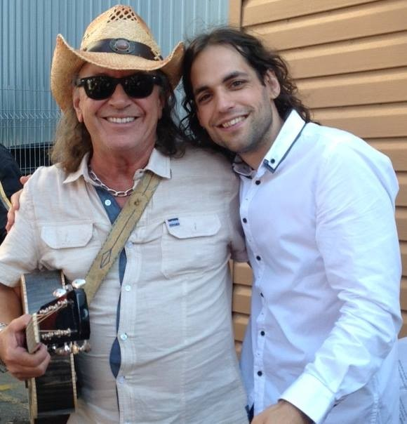 Avec Paul Daraîche, 2015 | Photo : Solange Rodrigue