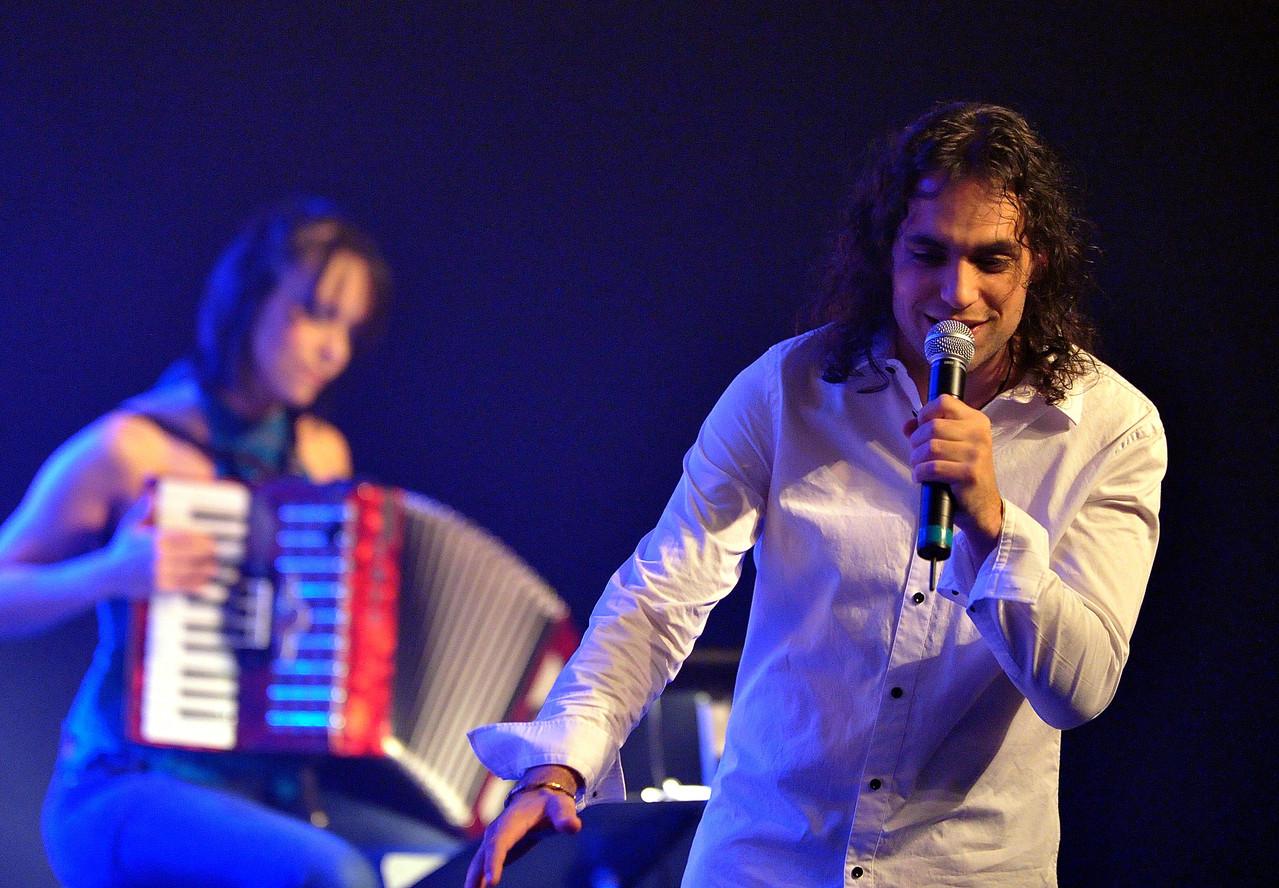 Avec Stéphanie Labbé | Photo : Pierre Rochette, 2010