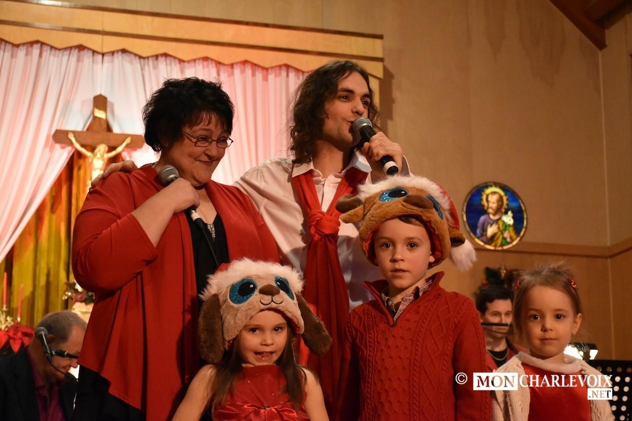 Avec sa famille   Photo : Sébastien Audet, 2015