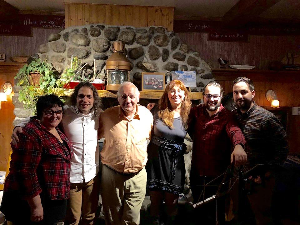 Avec Caroline Desbiens & Étienne Bouchard, 2019   Photo : Philippe Dion