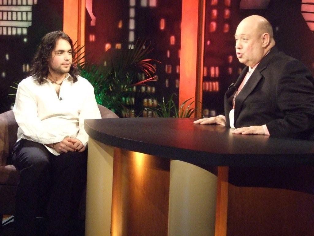 Avec François Reny, 2010 | Photo : Roland Lachance