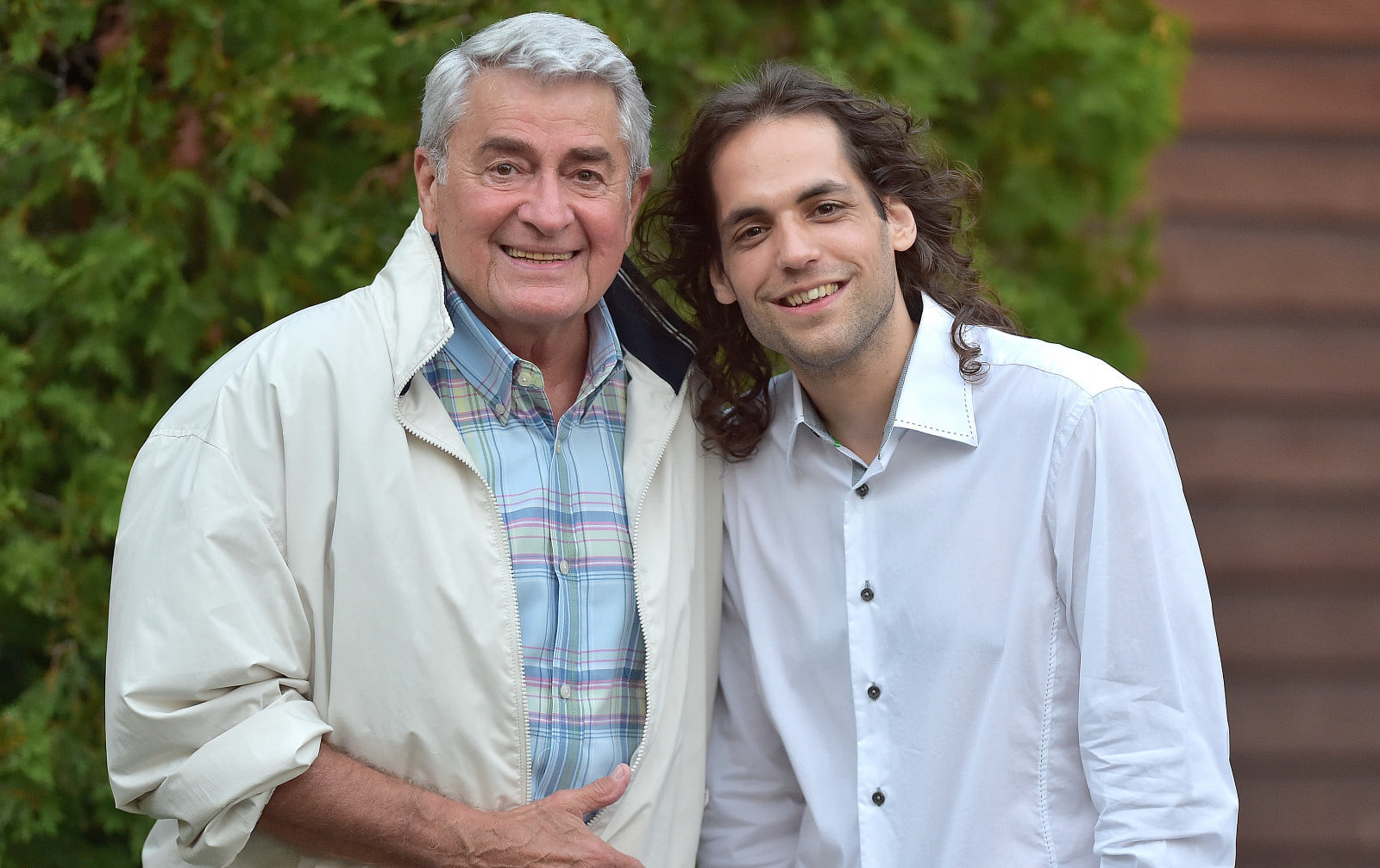 Avec Michel Louvain, 2015