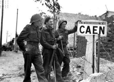 Débarquement alliés Caen
