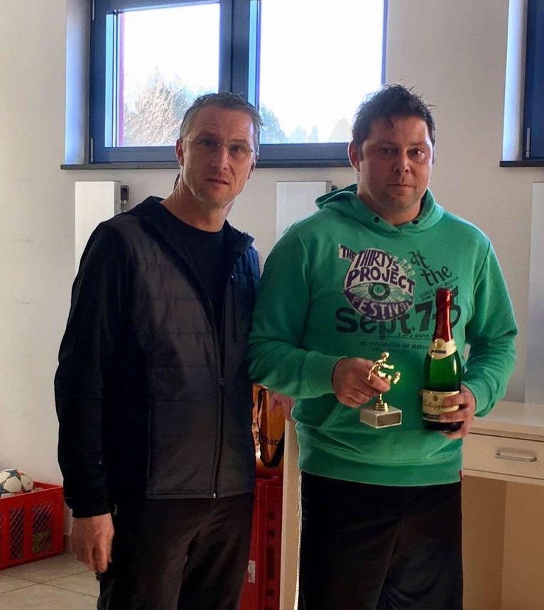 bester Spieler - Jens Kühnemund vom FSV Rot-Weiß Teichröda