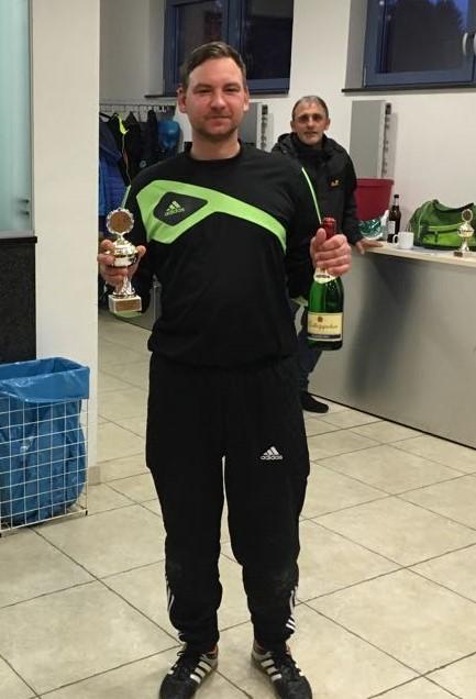Bester Torwart - Steffen Kollek vom SV Thiringia Königsee