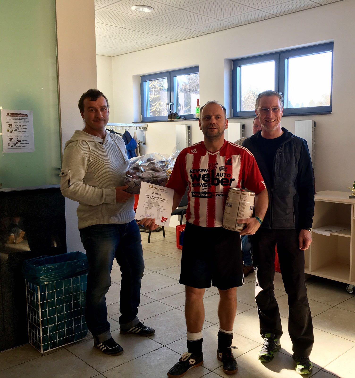 Turniersieger - FSV Rot-Weiß Teichröda