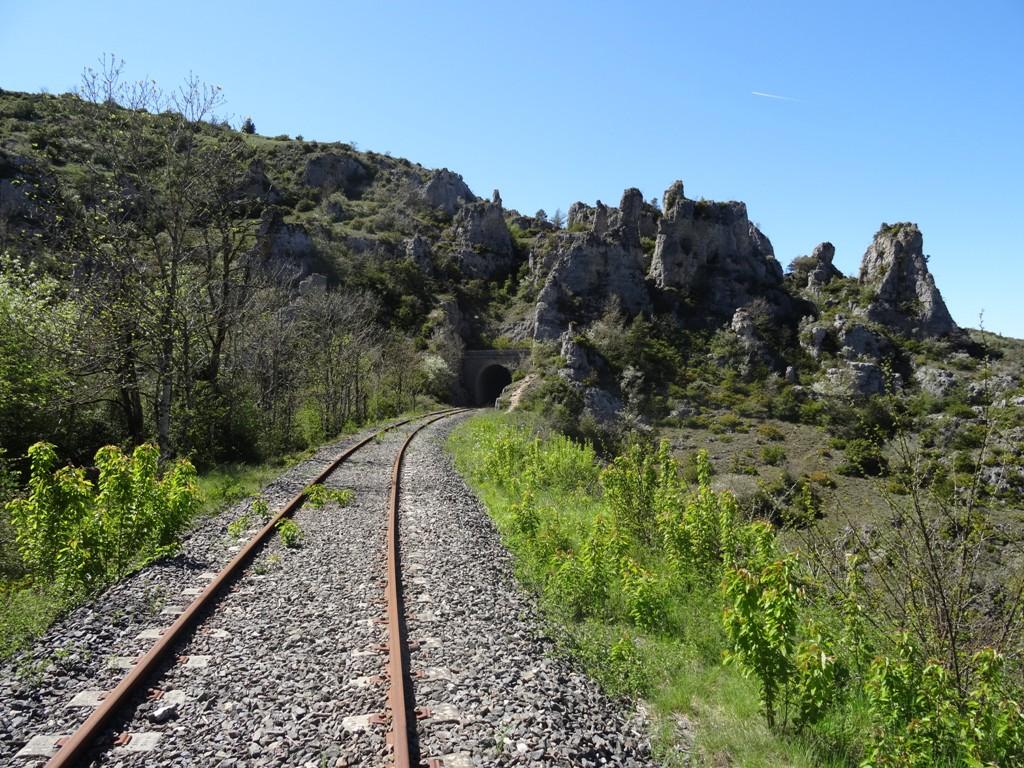 Vélo rail, Saint Eulalie sur Cernon à 1h45 du gîte
