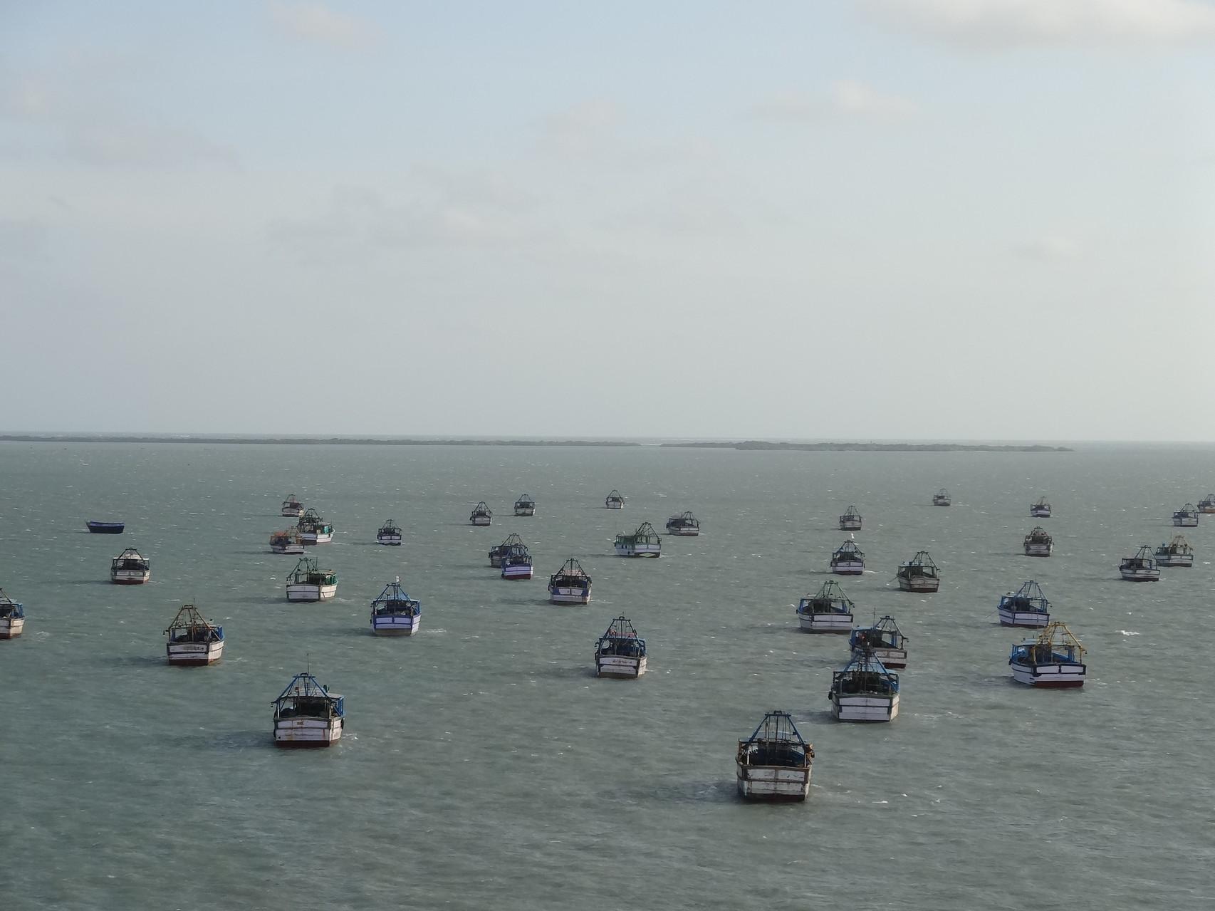 Puis Rameshwaram où l'on espère un bateau pour le Sri Lanka