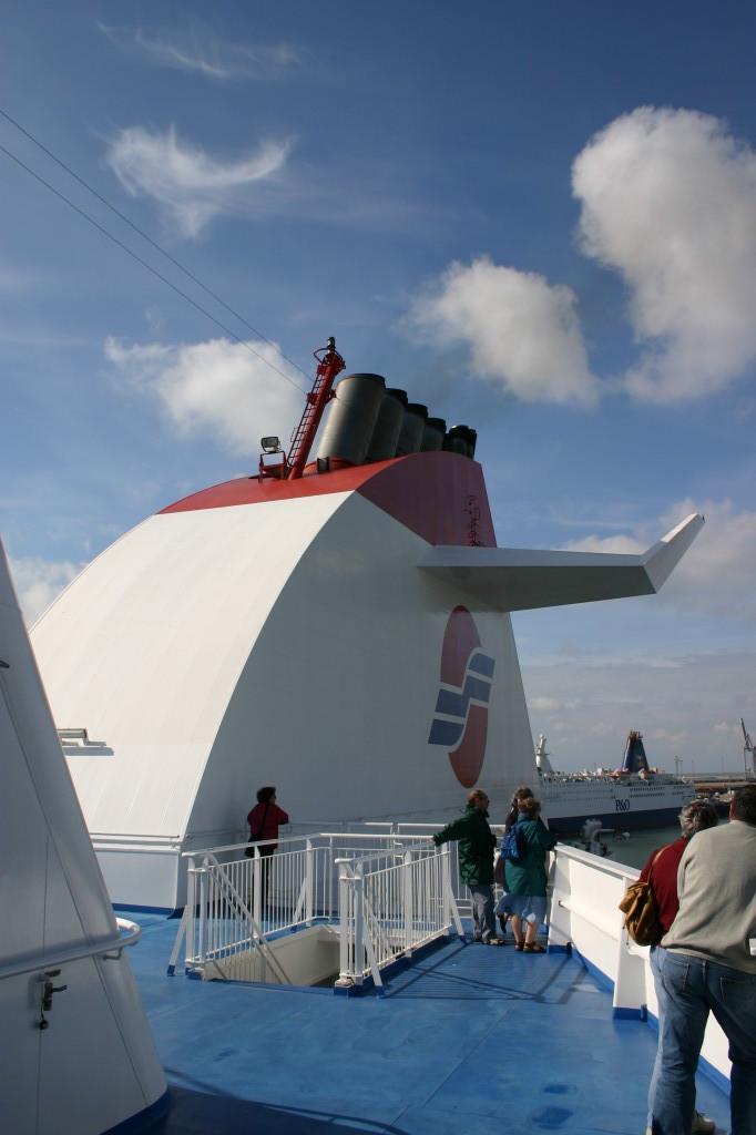 Mit der Super Ferry nach Schottland