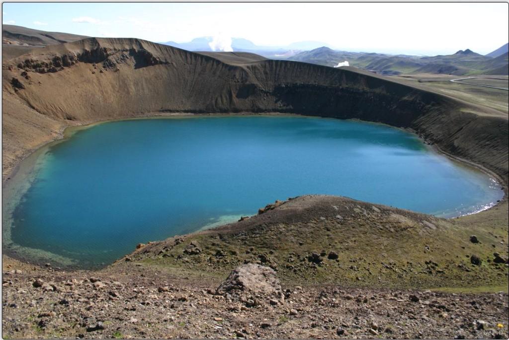 Der Viti - Kratersee (Krafla)