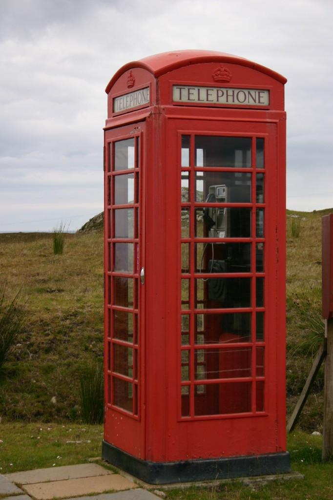 Die gute alte Telefonkabine