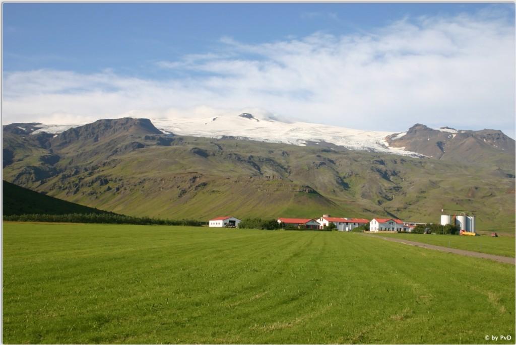 Bauernhof in Island