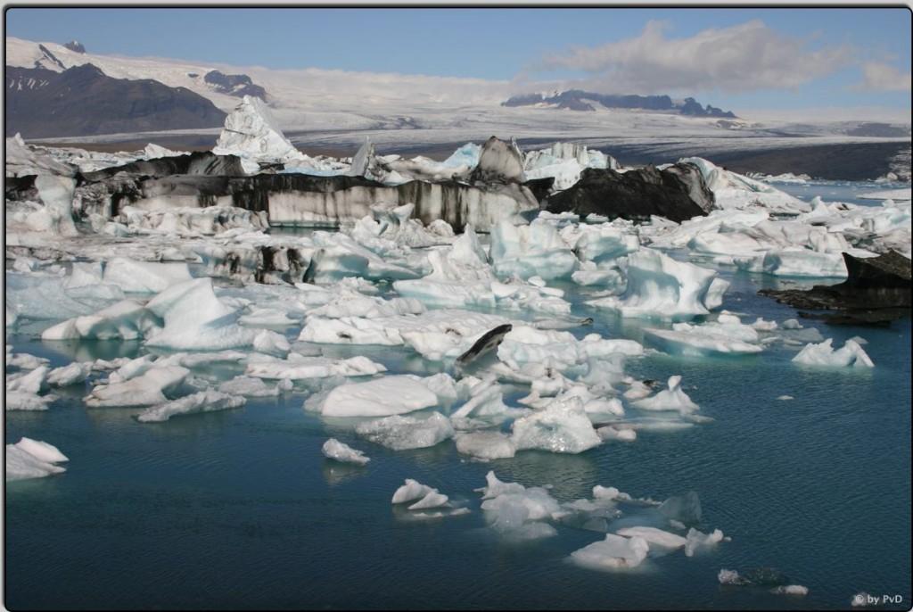 Die Gletscherlagune Jökulsarlón