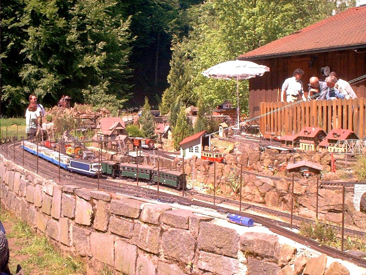 Marienmühle - Micha's Außenanlage - 2002